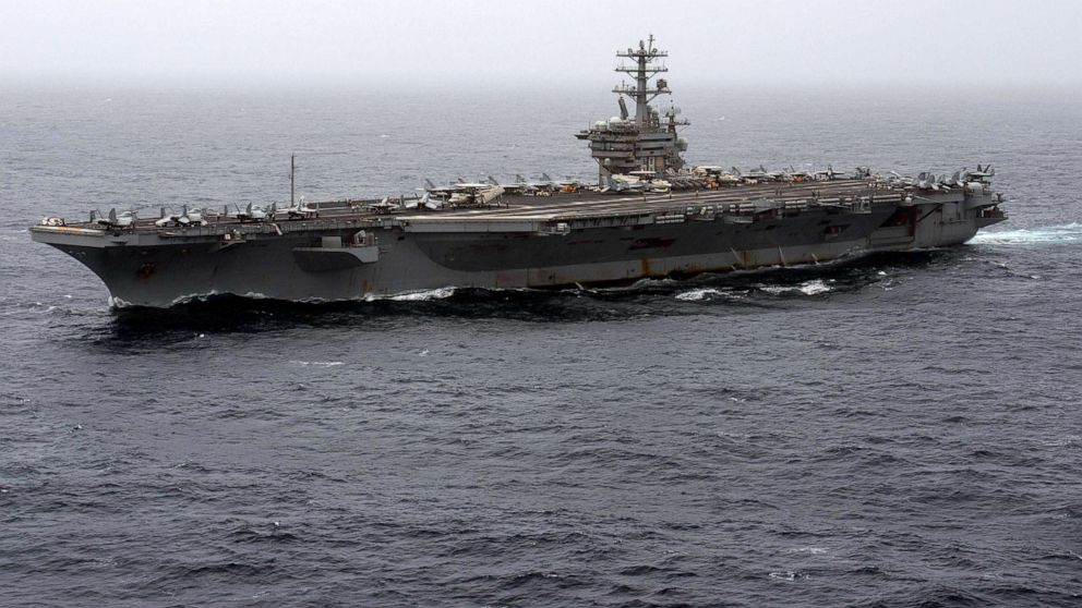 Trump ordered the return of the naval carrier to the Middle East